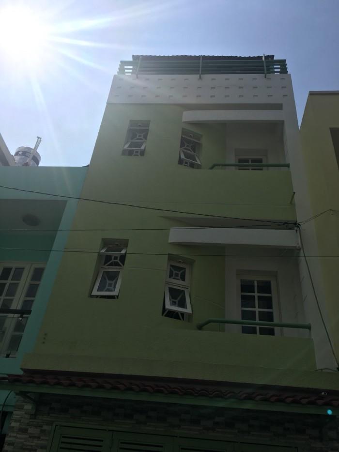 Bán nhà hẻm xe hơi 6m Dương Văn Dương,DT:4mx12m,2 Lầu