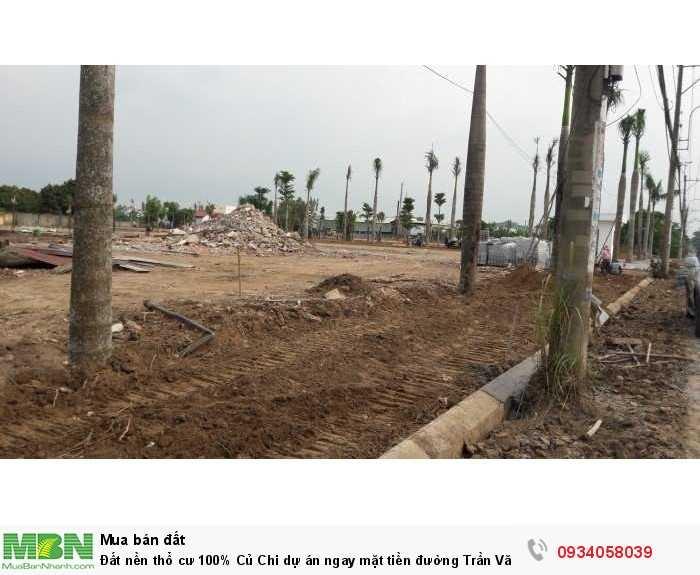 Đất nền thổ cư 100% Củ Chi dự án ngay mặt tiền đường Trần Văn Chẩm, sổ Riêng từng nền, Xây tự do