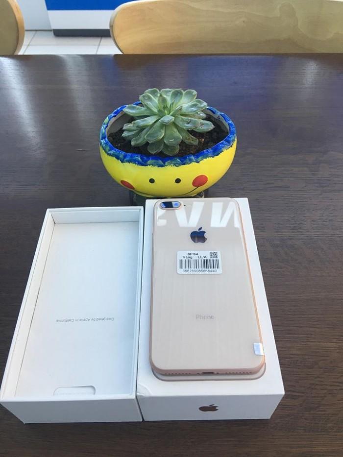 Iphone 8 Plus 64g vàng hồng giá yêu thương tặng chị em2