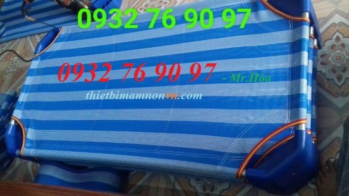 Giường lưới cho trẻ mầm non giá rẻ4