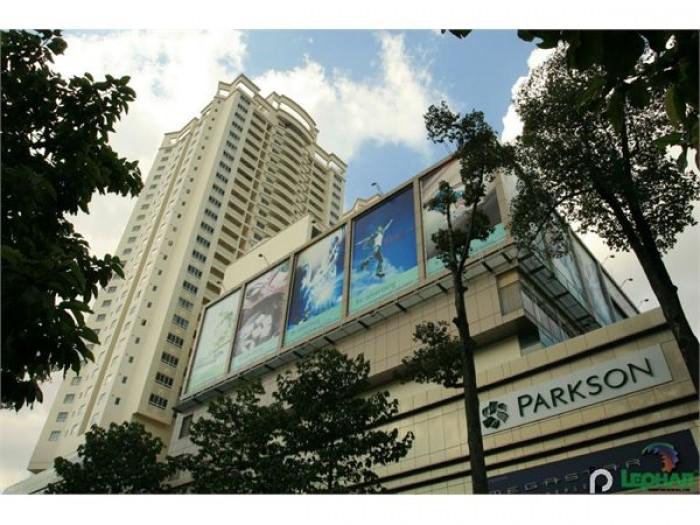 Cần bán gấp căn hộ Hùng Vương plazza, Dt 130m, 3 phòng ngủ, nhà rộng thoáng mát
