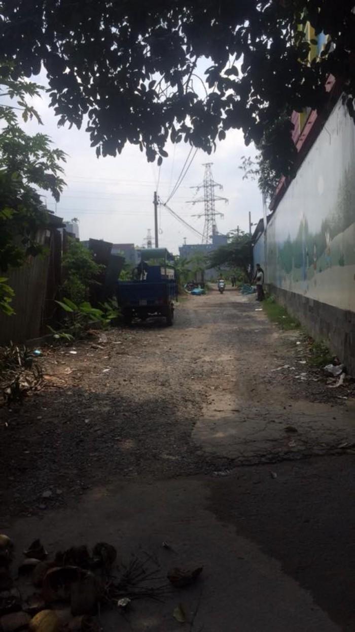 Đất đường Nguyễn Văn Quá, phường Đông Hưng Thuận, Quận 12
