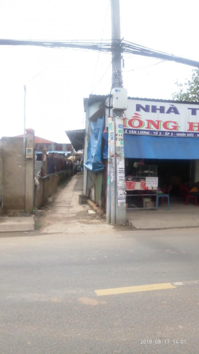 Cần bán dãy trọ 16 căn mặt tiền Lê Văn Lương, có 100% thổ cư, Nhà Bè, tphcm