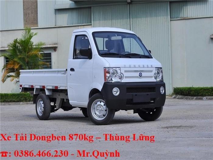 Xe Tải DongBen 870 Kg Thùng Lững