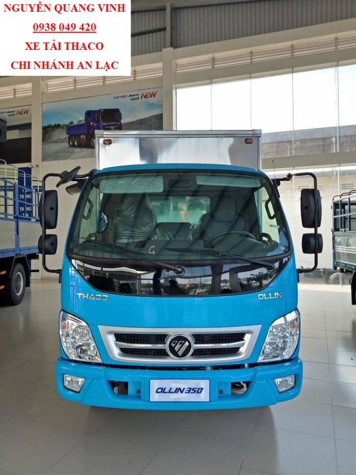 Xe Tải Thaco Euro4 - Thaco Ollin350 New - Thùng Dài 4m4 - Tải 2,3 Tấn - Bán Xe Trả Góp 6