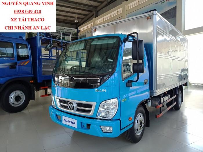 Xe Tải Thaco Euro4 - Thaco Ollin350 New - Thùng Dài 4m4 - Tải 2,3 Tấn - Bán Xe Trả Góp 5