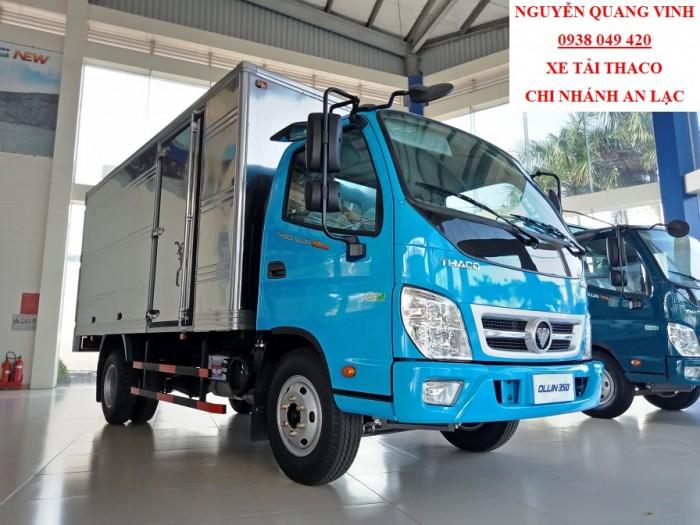 Xe Tải Thaco Euro4 - Thaco Ollin350 New - Thùng Dài 4m4 - Tải 2,3 Tấn - Bán Xe Trả Góp 4