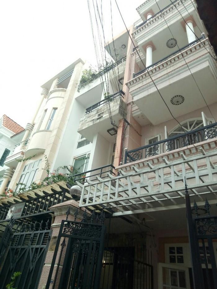 Bán nhà khu Vip Hoàng Việt Hẻm xe hơi DT: 4x15m, 5 Lầu