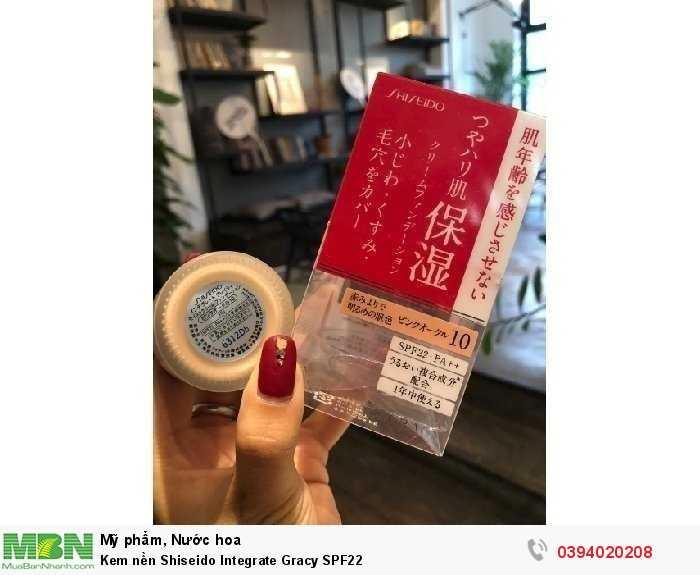 Kem nền Shiseido Integrate Gracy SPF22