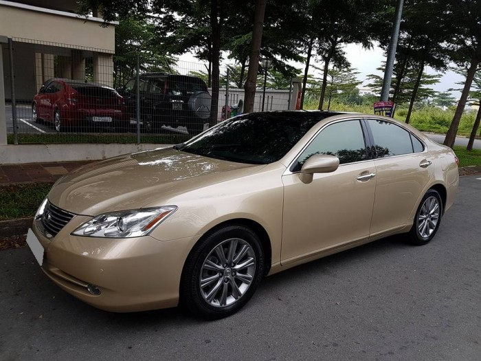Lexus Es350 Vàng cát 2009 tự động nhập mỹ độc nhất sài gòn.