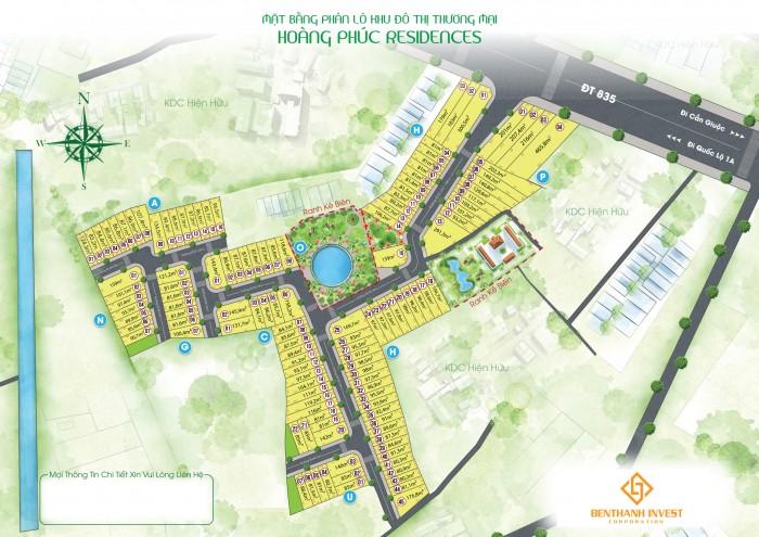 Đất nền dự án Hoàng Phúc Residence - Điểm sáng đầu tư - Sinh lời cực tốt