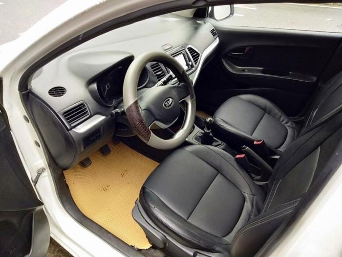 Đổi xe cần bán Morning 2014, số sàn, bản 1.25. màu trắng tinh cực đẹp,