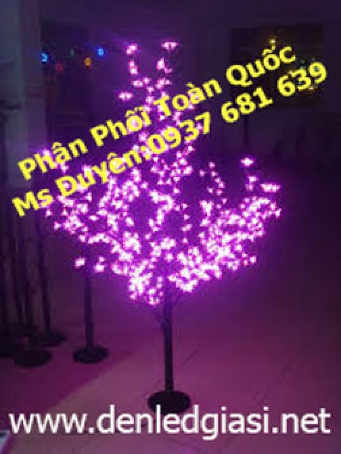 Đèn cây hoa đào 480 led0