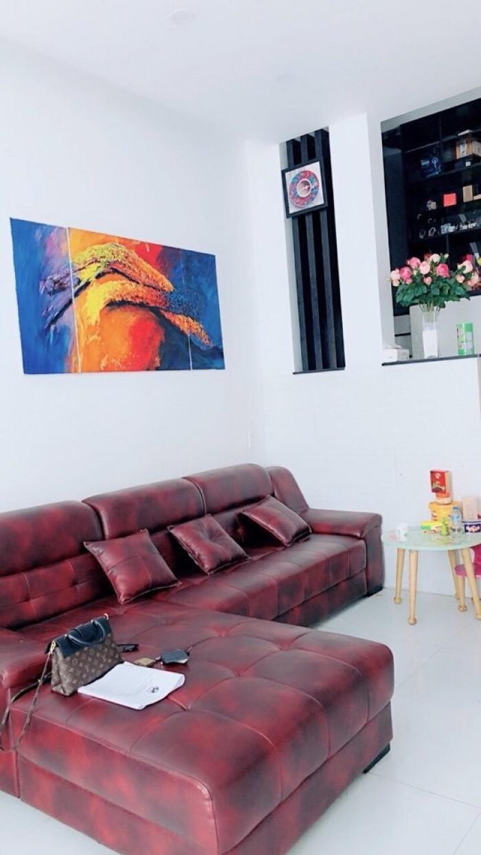 Nhà mới 3 lầu HXH 8m khu VIP Phan Đăng Lưu ,Q.PN : 4,3x21