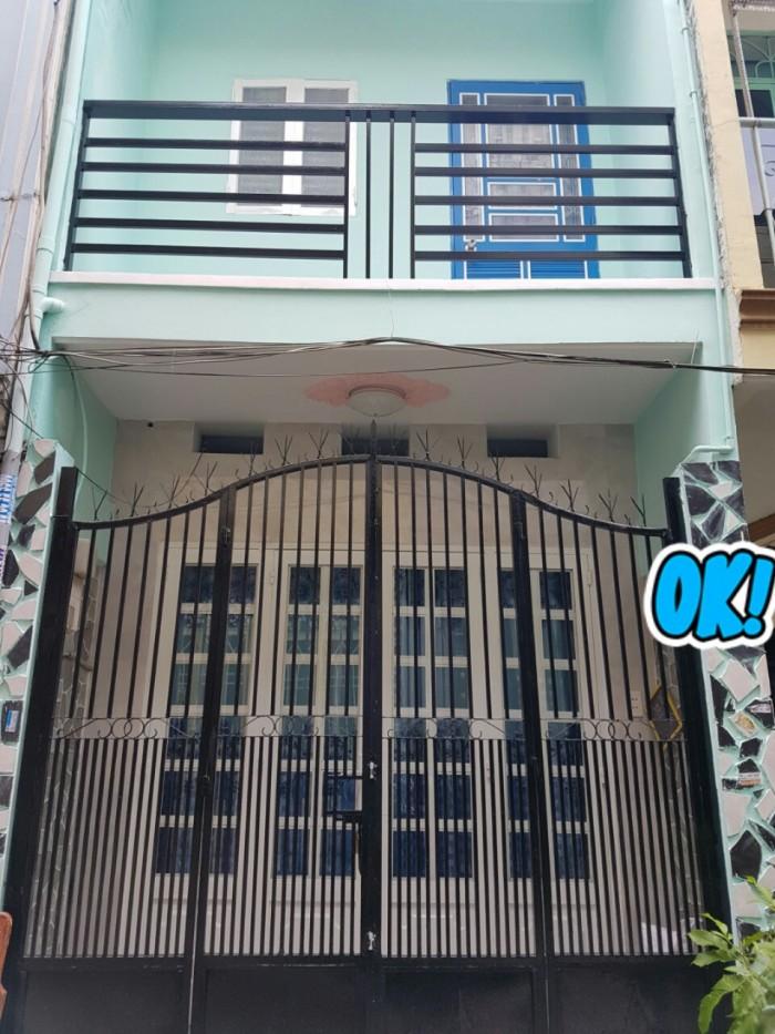 Bán nhà 2 tấm đường số 5 gần chợ Bình Long, Bình Hưng Hòa A