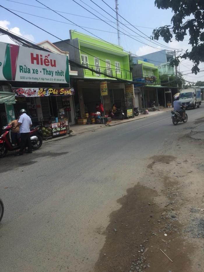 Đất nền đường Lê Văn Khương,phường Hiệp Thành, quận 12