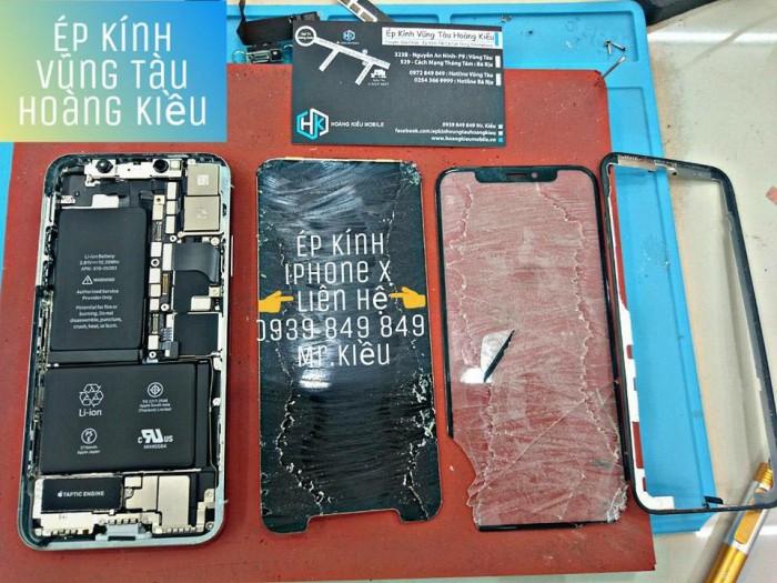 Ép Kính Iphone X, Huawei Nova 3i, Xiaomi Redmi 6 Pro...