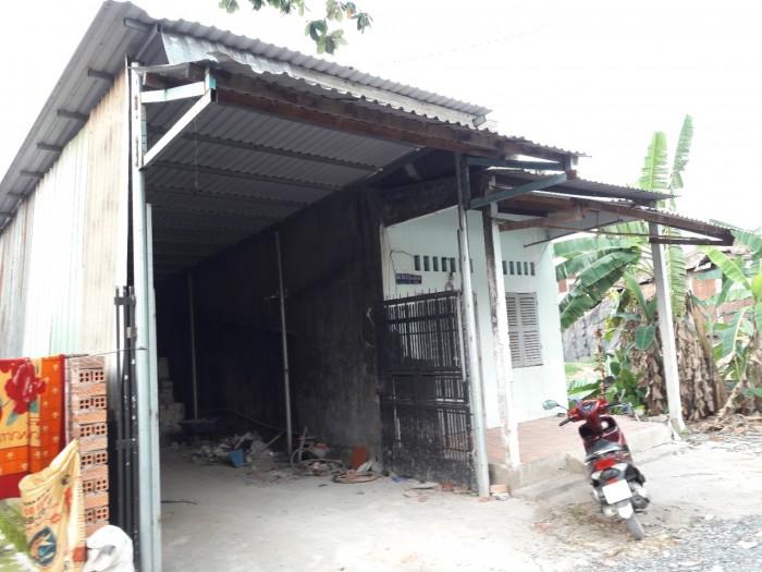 Cho thuê nhà xưởng 8x25m, giá 10 triệu/tháng, HXH 4m, Lê Thị Riêng, Thới An, Q. 12