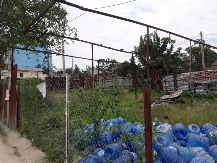 Cho thuê đất mặt tiền đường nhựa 10m, 8x17m,  phường Hiệp Thành, Q12