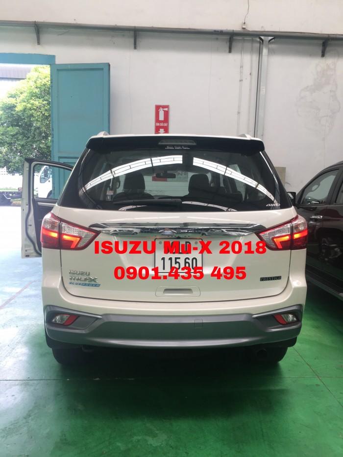ISUZU MU-X 2018, nhập khẩu Thái Lan