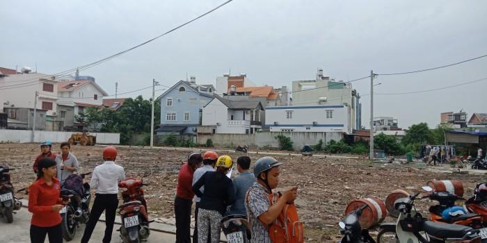 Bán đất phường Trường Thọ ngay chợ Thủ Đức đường nhựa 7m SHR giá 45 triệu 1m2