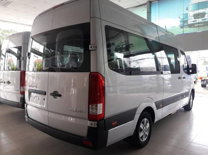 Giá Xe 16 Chỗ Solati 2018 , Hyundai Solati 16 Chỗ Màu Bạc , Đặt Xe Ngay Tặng Ngay 30 Triệu 5