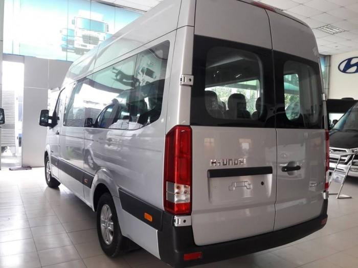Giá Xe 16 Chỗ Solati 2018 , Hyundai Solati 16 Chỗ Màu Bạc , Đặt Xe Ngay Tặng Ngay 30 Triệu 4