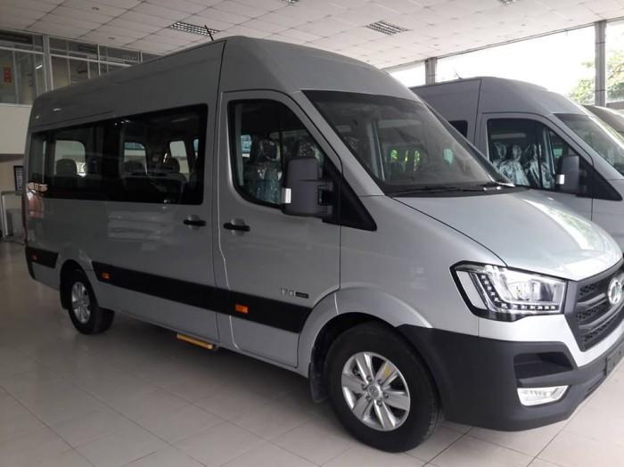 Giá Xe 16 Chỗ Solati 2018 , Hyundai Solati 16 Chỗ Màu Bạc , Đặt Xe Ngay Tặng Ngay 30 Triệu