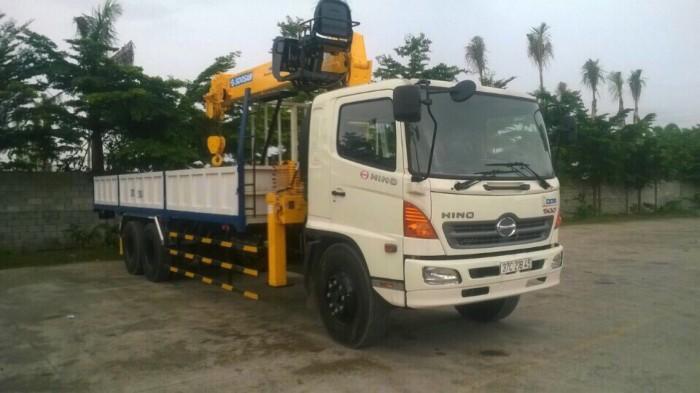 Xe tải Hino FL gắn cẩu Soosan 746L sức nâng 7.5 tấn, tải trọng hàng 12 tấn, cẩu vươn dài 19m - Gọi 0907043398 (Mr Tú 24/24)