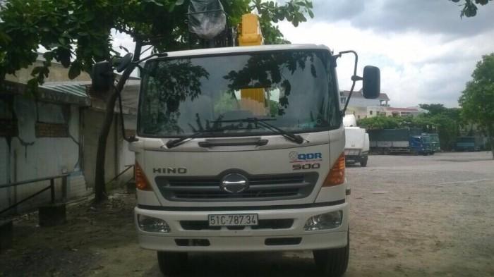 Khuyến mãi mua xe tải Hino FL gắn cẩu Soosan 746L sức nâng 7.5 tấn, tải trọng hàng 12 tấn, cẩu vươn dài 19m - Gọi 0907043398 (Mr Tú 24/24)