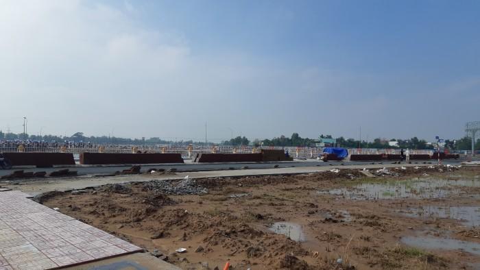 Đất nền khu dân cư huyện Thủ Thừa. Mt đường HL6