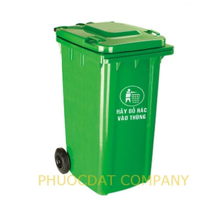 Nơi cung cấp thùng rác gia đình 120 lit - giao hàng tận nơi trên toàn quốc0