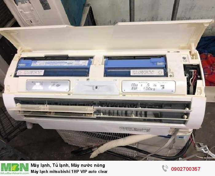 Máy lạnh mitsubishi 1HP VIP auto clear2