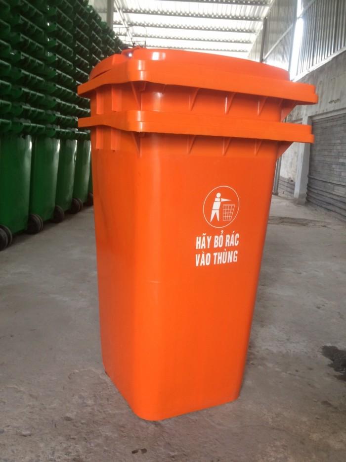 Thùng rác công cộng 240l2