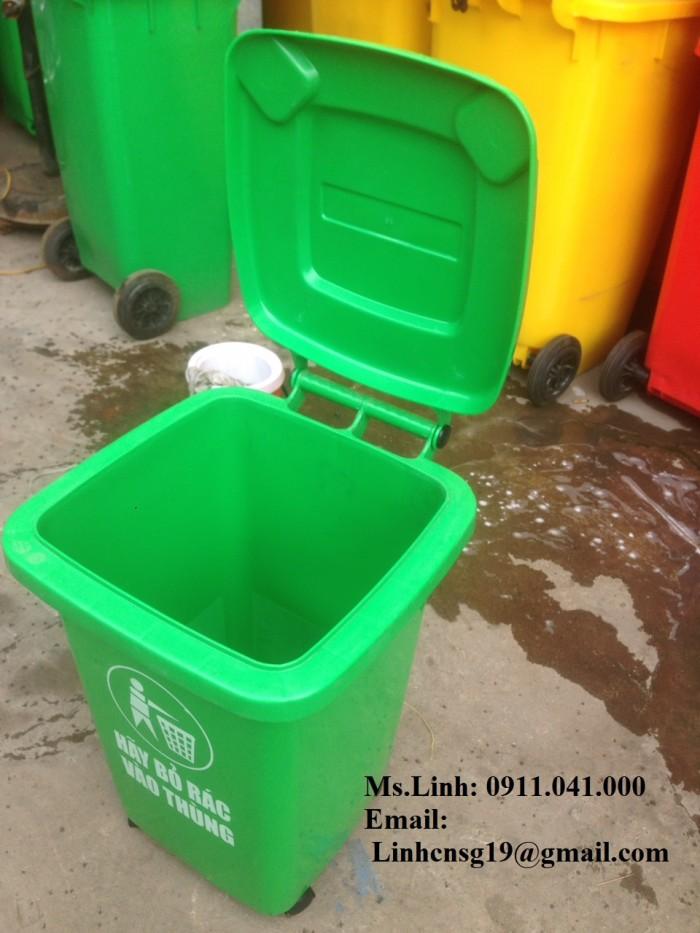 Thùng rác công cộng 240l1