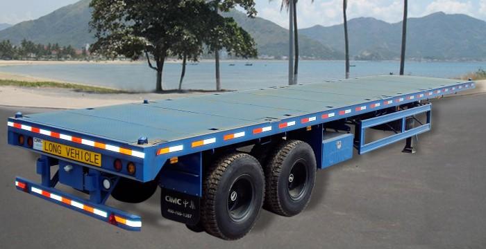 Mooc sàn phẳng, 3 trục 40 feet CIMC, giá rẻ,xe có sẵn, alo giao ngay.