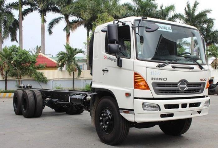 Giá xe tải Hino FL 13.8 tấn, gắn cẩu unic 5 tấn, trả trước 200 triệu, giao luôn xe - Gọi 0907043398 (Mr Tú 24/24)