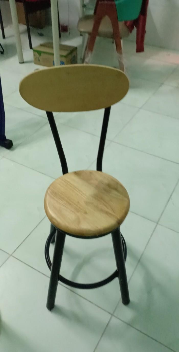 Thanh lý bộ bàn ghế bar gỗ giá rẻ-mn0