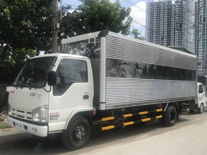 Xe tải ISUZU NK490SL4 - 1.9 tấn thùng dài 6.2m 5