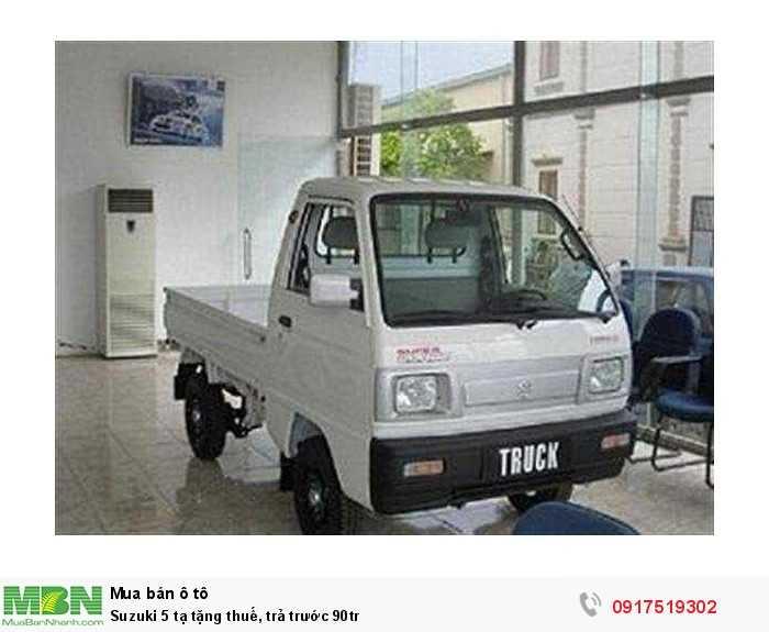 Suzuki 5 tạ tặng thuế, trả trước 90tr