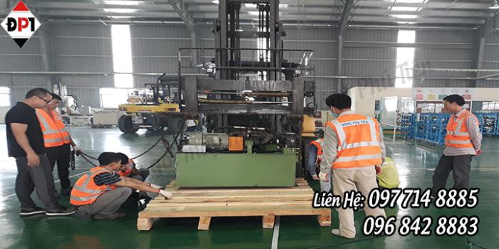 Dịch vụ đóng gói máy móc xuất khẩu hàng tại Bắc Ninh