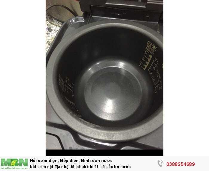Nồi cơm nội địa nhật Mitshubishi 1L có cốc bù nước3