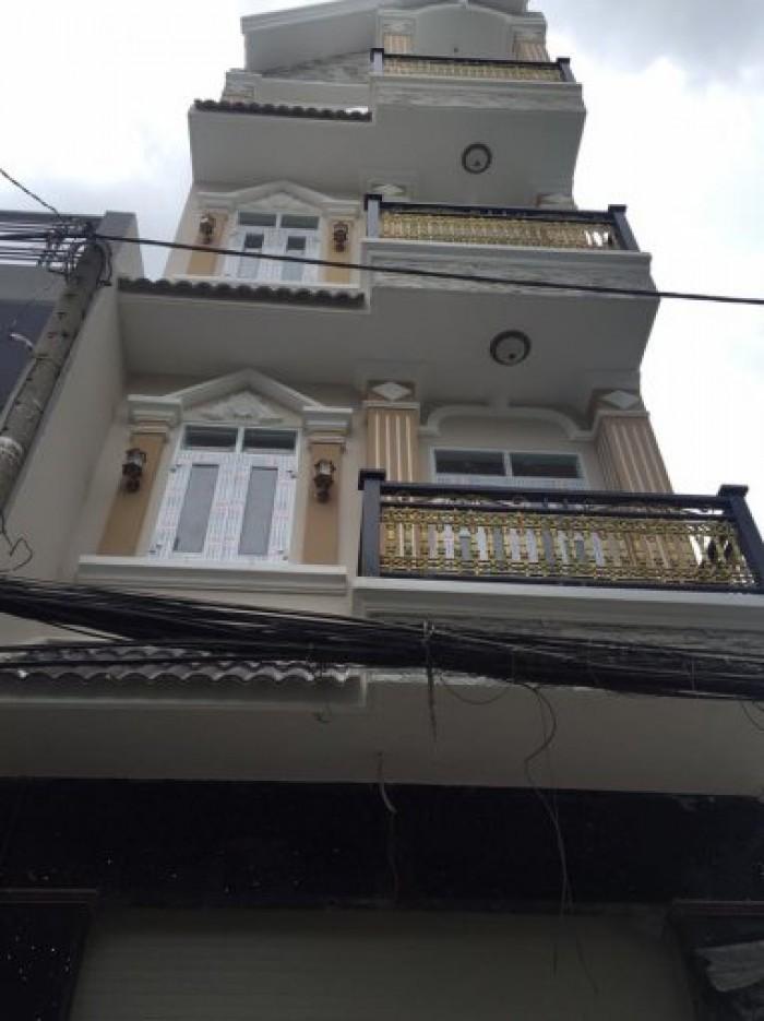 Bán nhà mới chính chủ Q.Tân BÌnh, (4 x 18) 4 lầu, hiện đang cho thuê văn phòng.