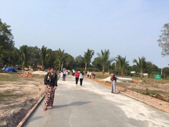 Bán đất nền khu dân cư hiện hữu đông đúc gần chợ, trường