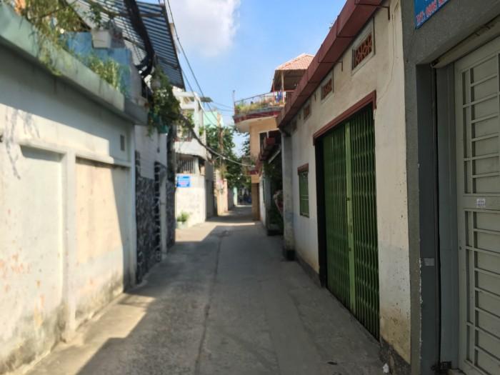 Nhà hxh số 5 Nơ Trang Long có dãy phòng trọ