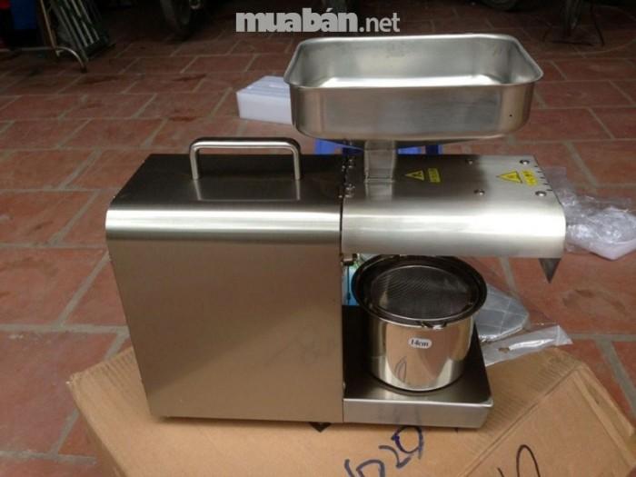 Máy ép dầu lạc gia đình GD-08 ép 4-6kg/giờ giá rẻ tại Lâm Đồng0