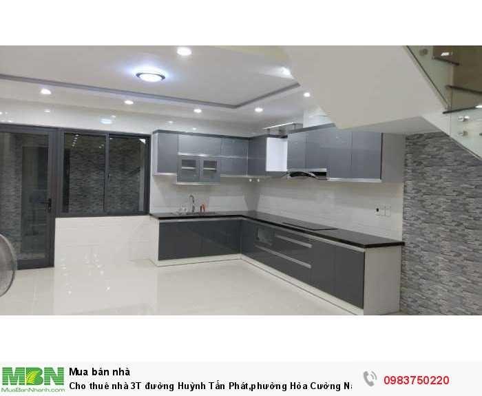 Nhà 3T đường Huỳnh Tấn Phát, phường Hòa Cường Nam, quận Hải Châu, Đà Nẵng mới 100%