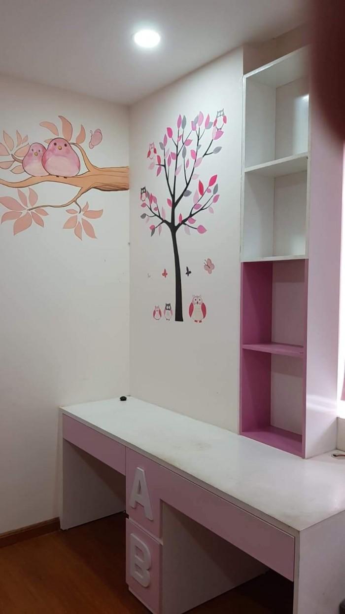 Cần cho thuê căn hộ Him Lam Chợ Lớn Q6 DT 86m2 2pn 2wc full nội thất giá 15tr TL nhận nhà ở ngay