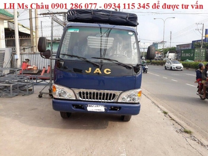 Xe tải Jac 2.4 tấn - trả góp lãi suất thấp