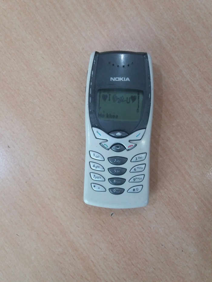 Nokia 8250 cổ nghe gọi nhắn tin tốt kèm xạc3